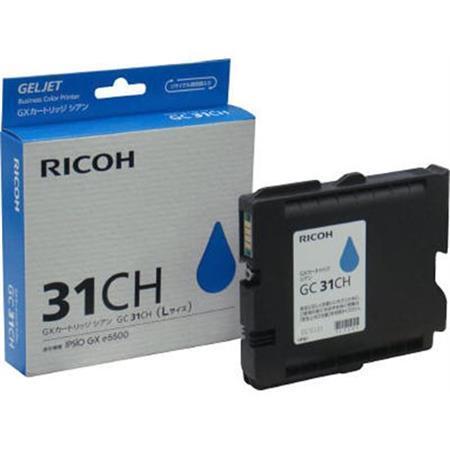 405702 Gelová náplň do tiskárny Aficio GX e5550N/e7700, typ GC31CH, cyan, 2,3 tis. stran, RICOH