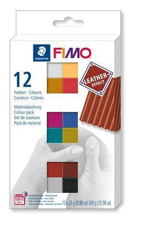 "FIMO® ""Leather Effect"" sada 12 barev 25g"