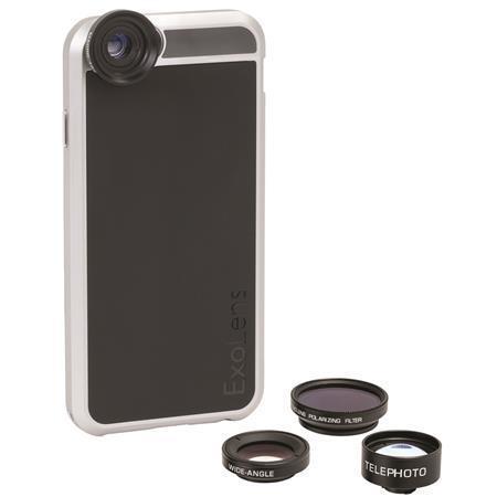 Objektivy ExoLens®, sada, pro iPhone 6/6s (4 objektivy), FELLOWES