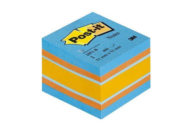 Samolepící bloček, 51x51 mm, 400 lístků, 3M POSTIT, balance Počet kusů v balení: 400