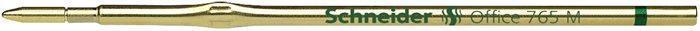 """Náplň do kuličkového pera """"Office 765"""", zelená, 0,5mm, SCHNEIDER"""