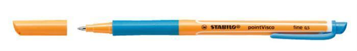 """Roller """"PointVisco"""", tyrkysová, 0,5mm, STABILO"""