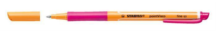"""Roller """"PointVisco"""", růžová, 0,5mm, STABILO"""