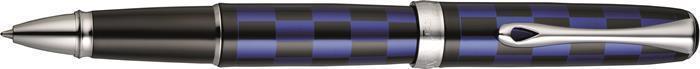 """Roller """"Excellence A Rome"""", lakované černo-modré tělo, modrá, 0,5 mm, DIPLOMAT"""