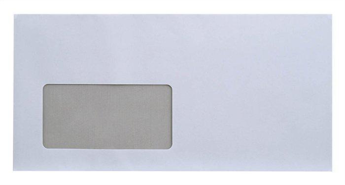 """Obálka, LA4 """"DL"""", samolepící, s okénkem vlevo, EURO"""