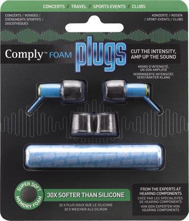 """Ucpávky pro ochranu sluchu před okolním hlukem """"Plugs"""", černé, COMPLY"""