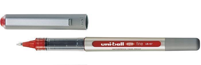 """Roller """"UB-157 Eye Fine"""", červená, 0,5mm, UNI"""