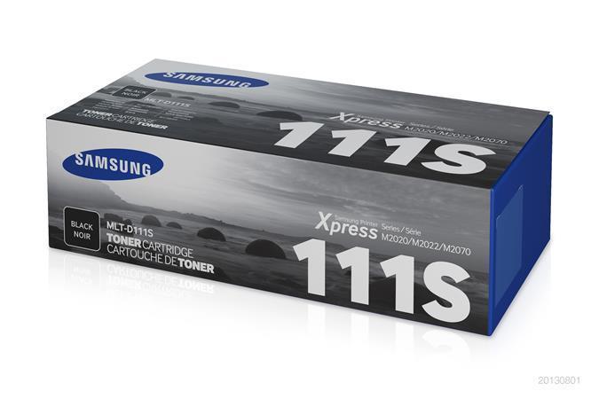 MLT-D111S Toner cartridge for SLM2022, 2070  printers, SAMSUNG black, 1k