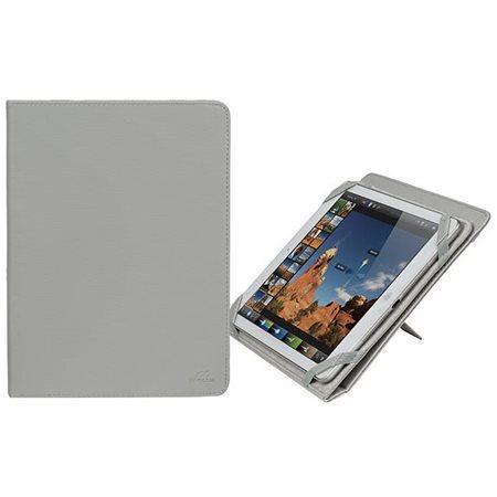 """Pouzdro na tablet """"GATWICK"""" světle šedá, 10.1"""", stojánek,  RIVACASE"""