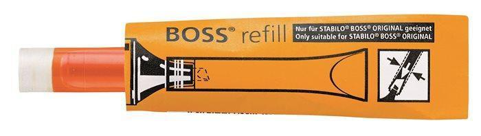 "Refill for ""Boss"" highlighter, STABILO ""Boss"", orange"