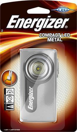 "Kapesní svítilna ""Compact Metal"", LED, 3xAA, ENERGIZER"