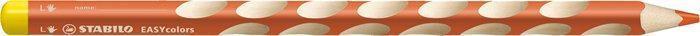 """Barevná pastelka """"Easycolours"""", trojhranná, pro leváky, oranžová, STABILO"""