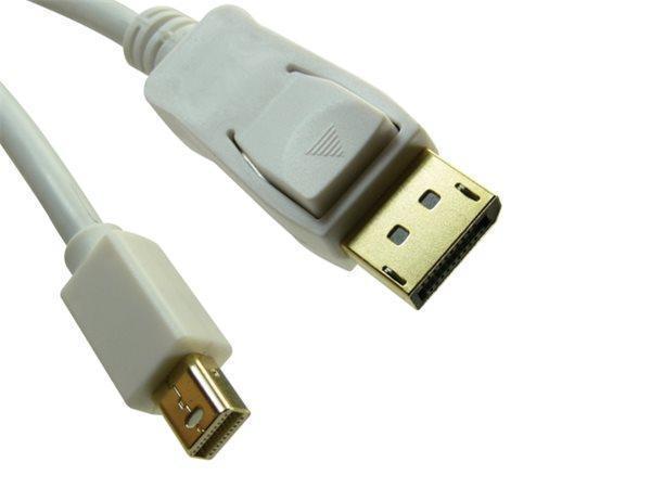 DisplayPort - miniDisplayPort 1.2 4K kabel, M/M, 2m, SANDBERG
