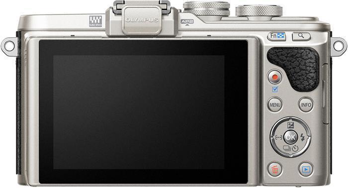 """Digitální fotoaparát, černé tělo, OLYMPUS """"E-PL8"""""""