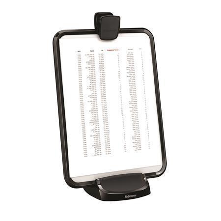 Stojan na dokumenty/tablet, řada I-Spire™, černá, FELLOWES
