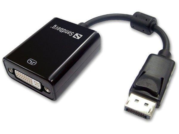 DisplayPort - DVI adaptér, SANDBERG