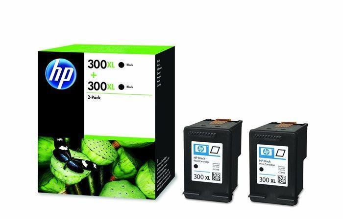 D8J43AE Inkjet cart.pro DeskJet D2560, F4224 tiskárny, HP 300xl černá, 2*600 stran