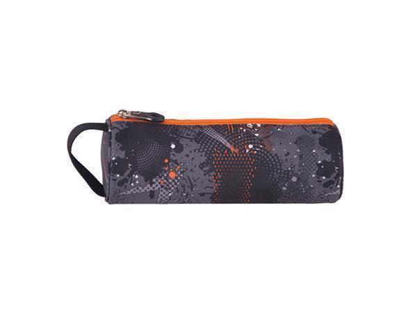 """Penál """"Cots Comet"""", šedo-oranžová, zip, PULSE"""