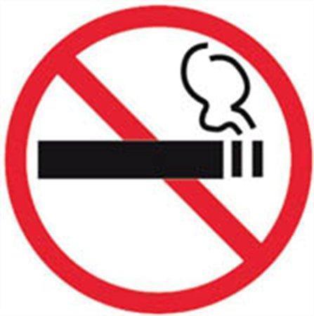 """Samolepící etiketa, """"Zákaz kouření"""", APLI"""