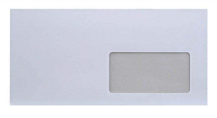 """Obálka, LA4 """"DL"""", samolepící, s okénkem vpravo, EURO"""