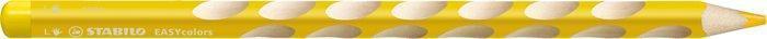 """Barevná pastelka """"Easycolours"""", trojhranná, pro leváky, žlutá, STABILO"""