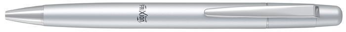 """Roller """"Frixion Ball LX"""", modrá, 0,7/0,35mm, vymazatelný, stříbrné tělo, PILOT"""