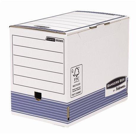 "Archivační krabice ""BANKERS BOX® SYSTEM by FELLOWES®"", modrá, 200 mm, A4, FELLOWES"