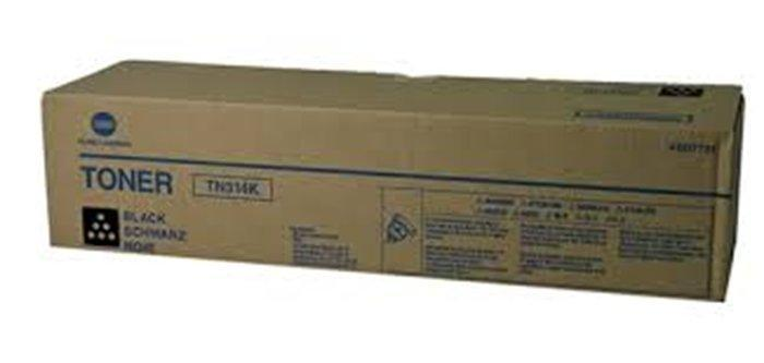 TN314K Copier toner for Bizhub C353 copier, KONICA-MINOLTA black
