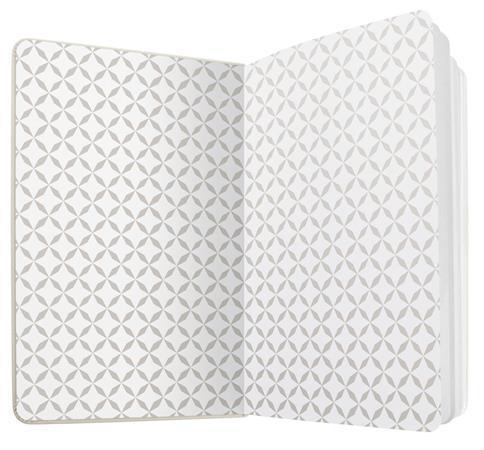 """Exkluzivní zápisník """"Jolie"""", fialová, 95x150 mm, linkovaný, 174 listů, SIGEL"""