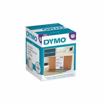 Štítky pro LW tiskárnu štítků, 104x159 mm, 220 ks, DYMO