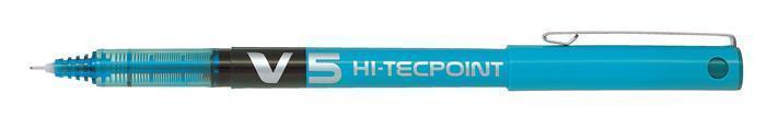 """Roller """"Hi-Tecpoint V5"""", světle modrá, 0,3 mm, jehličkový hrot, PILOT"""