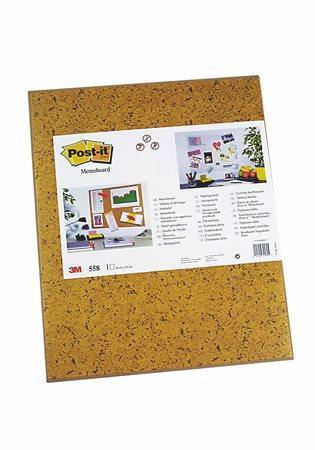 Samolepicí tabule Post-it, hnědá, 58x46cm, 3M POSTIT