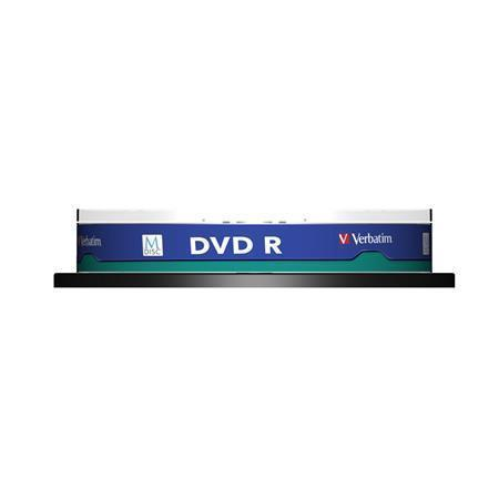 DVD-R 4,7GB, 4x, archive, M-DISC, printable, Verbatim, 10-cake