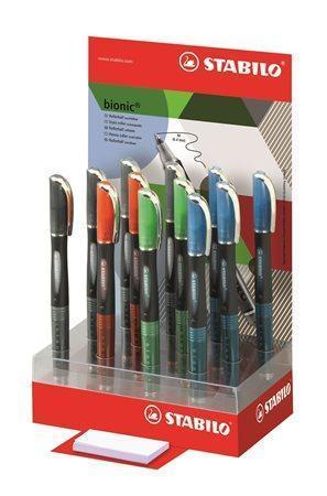 "Roller ""Bionic Refresh"", 0,4mm, displej, různé barvy, STABILO"