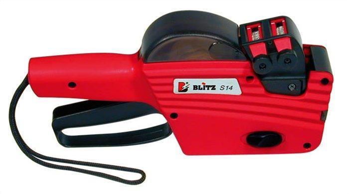 """Etiketovací kleště, 2 řádkové, 8+6 znaků, BLITZ """"S14"""""""