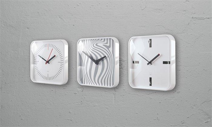 "Nástěnné hodiny ""artetempus®-mezo"", bílá, SIGEL"