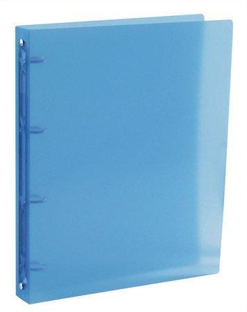 """Pořadač čtyřkroužkový """"PropyGlass"""", modrý, maxi, 35 mm, A4, PP, VIQUEL"""