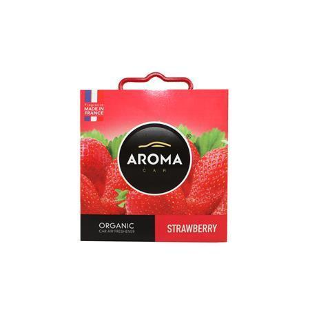 "Vůně do auta ""Organic strawberry"", jahoda, 40g, AROMA CAR"