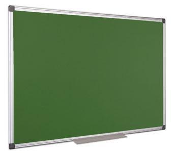 Zelená tabule, nemagnetická, hliníkový rám, 90x120cm