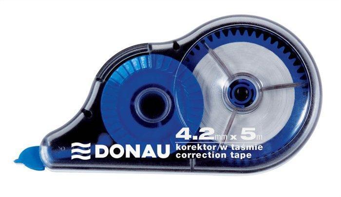 Korekční roller, 4,2mm x 5m, DONAU Počet kusů v balení: 5
