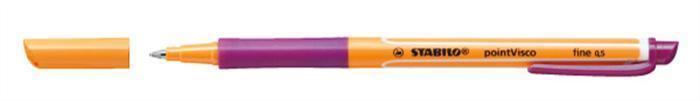 """Roller """"PointVisco"""", fialová, 0,5mm, STABILO"""