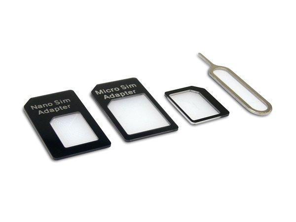 Adaptér na SIM kartu, 4 v 1, univerzální, SANDBERG