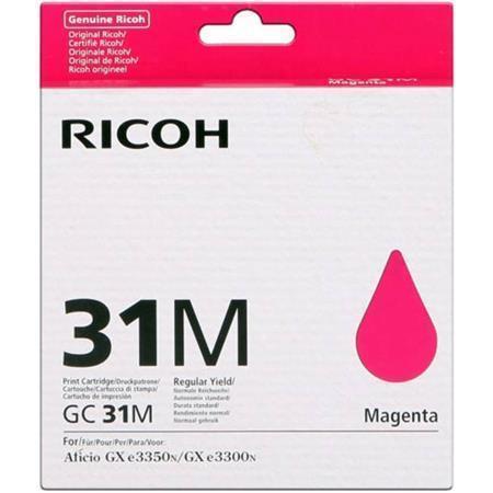 405703 Gelová náplň do tiskárny Aficio GX e5550N/e7700, typ GC31MH, magenta, 2,3 tis. stran, RICOH