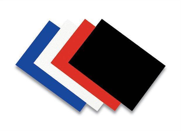 """Zadní kryt """"Linen"""", pro kroužkovou vazbu, imitace plátna, modrý, A4, 270 g, FELLOWES"""