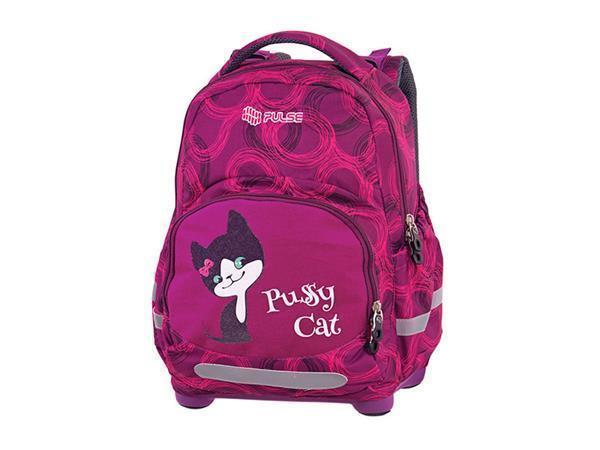 """Batoh """"Anatomic Pussy Cat"""", anatomický, fialový, PULSE"""