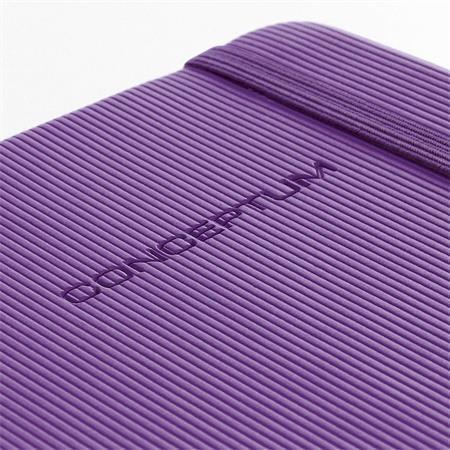 """Exkluzivní zápisník """"Conceptum"""", fialová, A6, čtverečkovaný, 194 listů, SIGEL"""