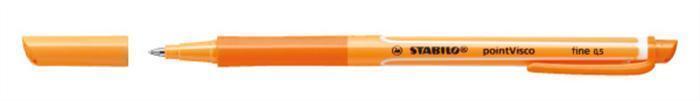 """Roller """"PointVisco"""", oranžová, 0,5 mm, STABILO"""