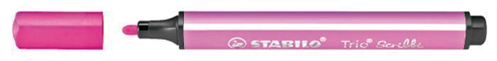 """Fix """"Trio Scribbi"""", růžová, odpružený hrot, 1,5-2mm, STABILO"""