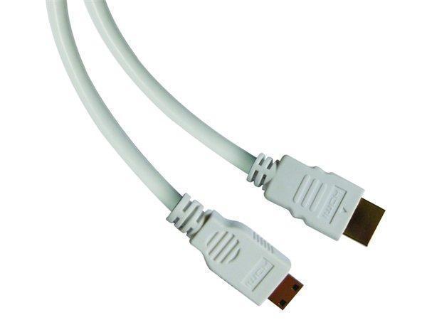 HDMI mini - HDMI monitor kabel, 2m, v1.4, SANDBERG