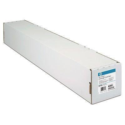 Fotografický papír, do inkoustové tiskárny, zářivě bílý, 841 mm x 45,7m, 90g, HP